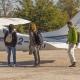 Flying Safaris - Landing in the bush