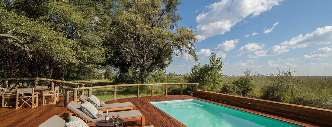 Pool at Camp Moremi