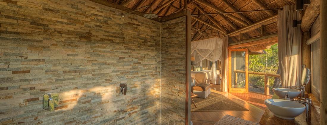 Guest Bathroom - Camp Moremi