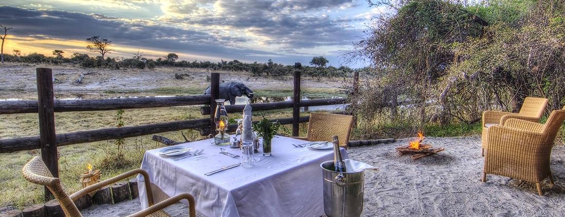 Savute Safari Lodge - View Deck
