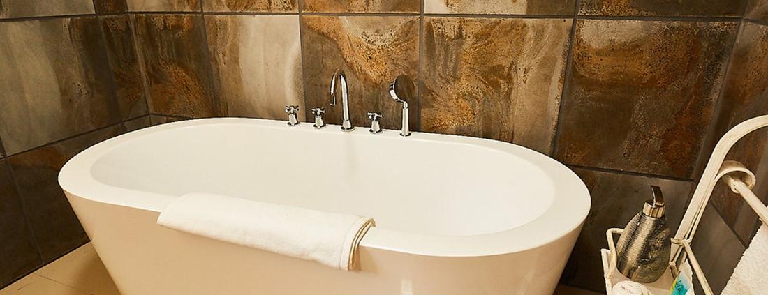 Bath at executive rooms