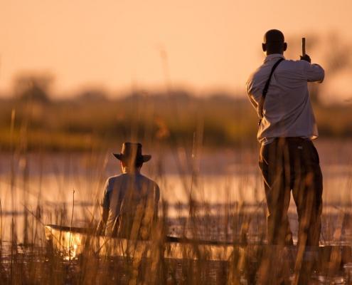 mokoro safari at Boro river