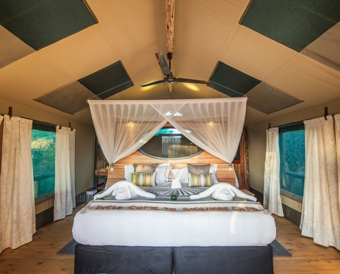 Safari tent at Rra Dinare