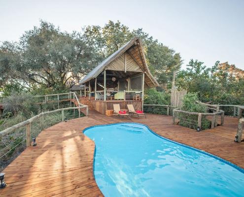 Swimming pool at Rra Dinare