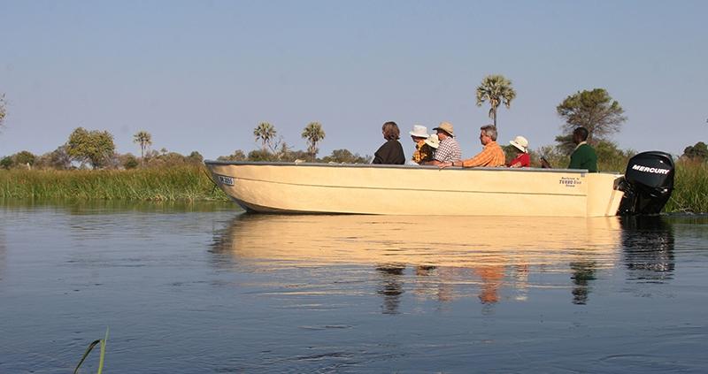 Boating Safari Okavango Delta