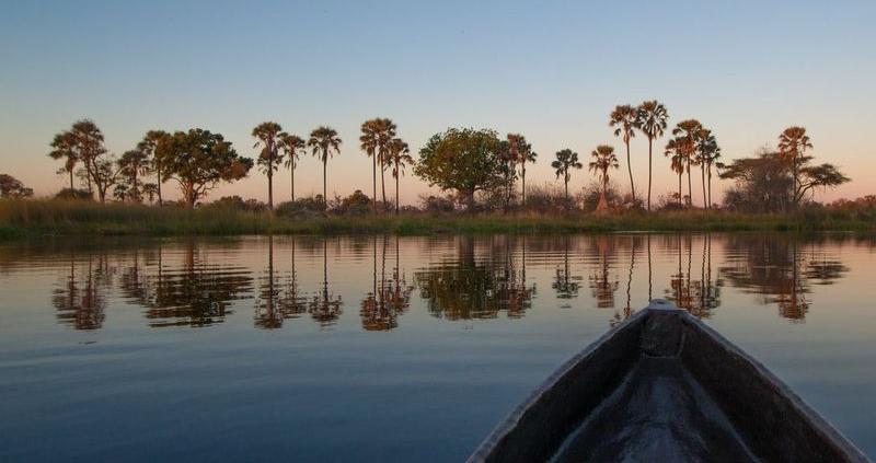 Okavango Delta by mokoro